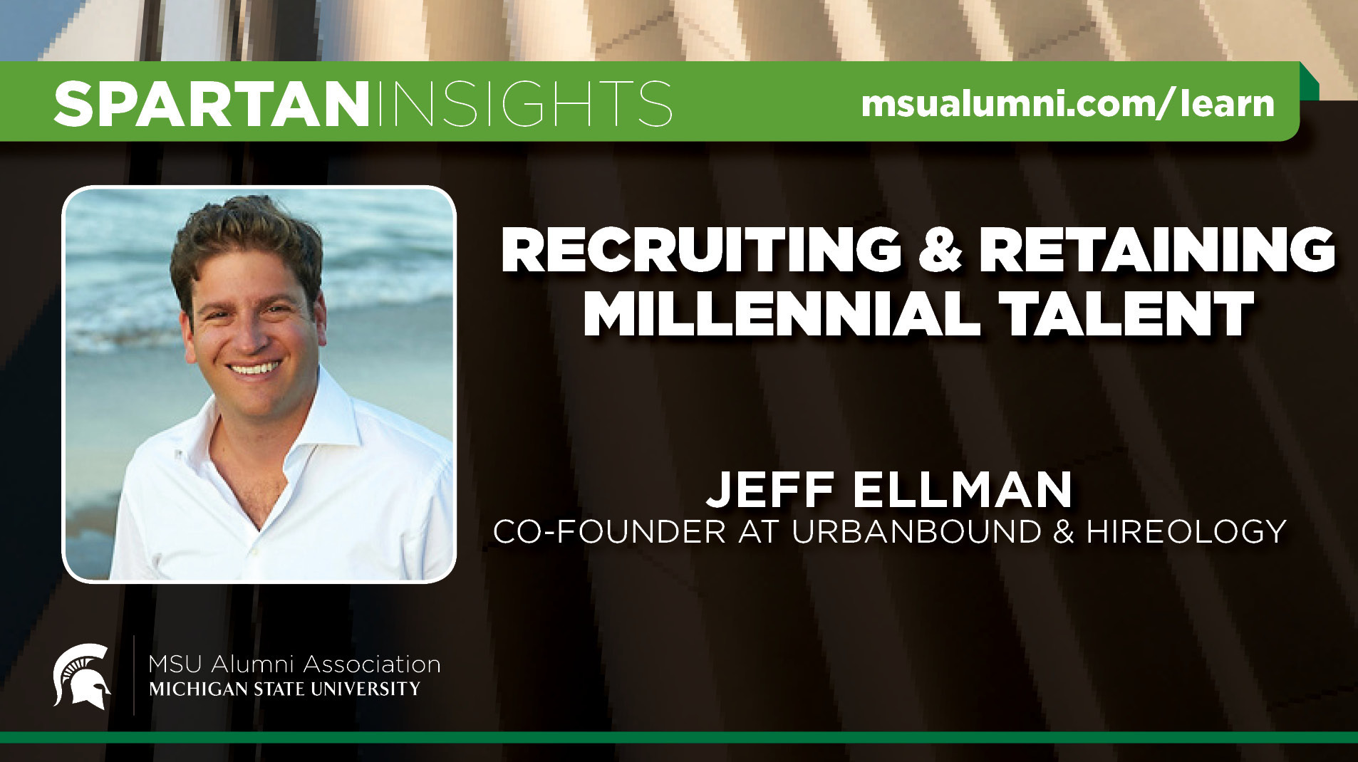 webinar cover image for Jeff Ellman | Recruiting & Retaining Millennial Talent