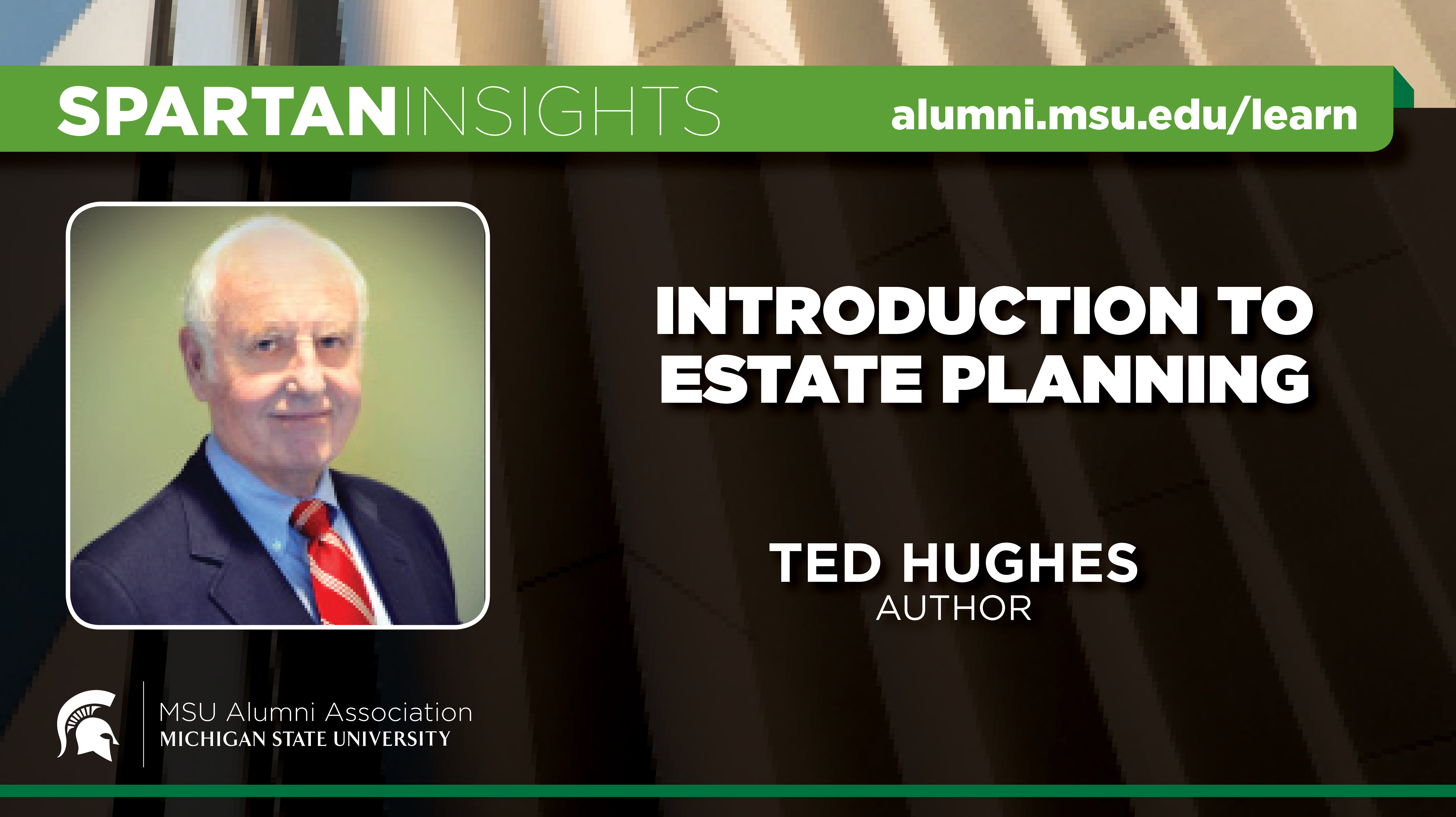 webinar cover image for Ted Hughes | Introduction To Estate Planning