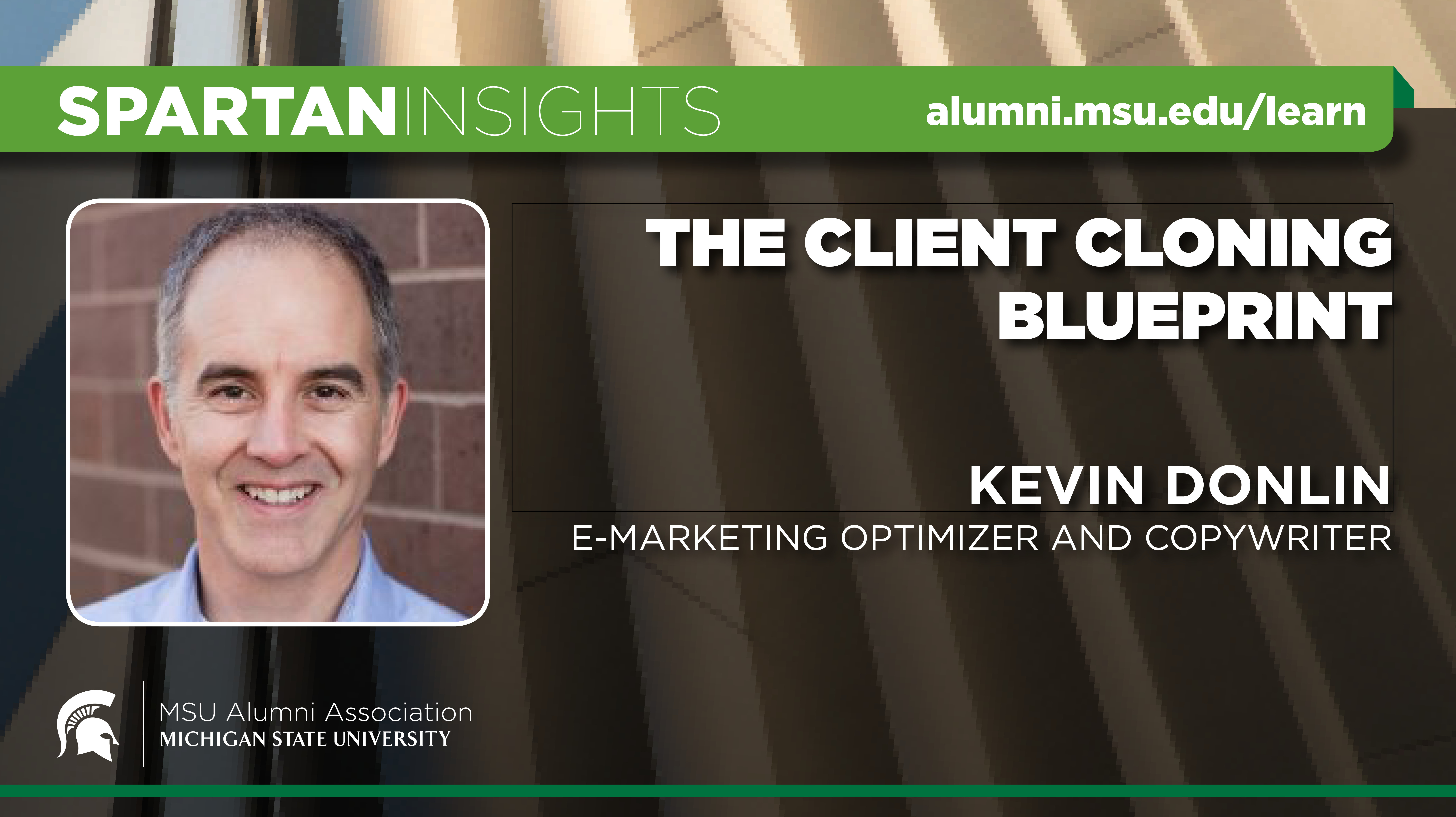 webinar cover image for Kevin Donlin | The Client Cloning Blueprint