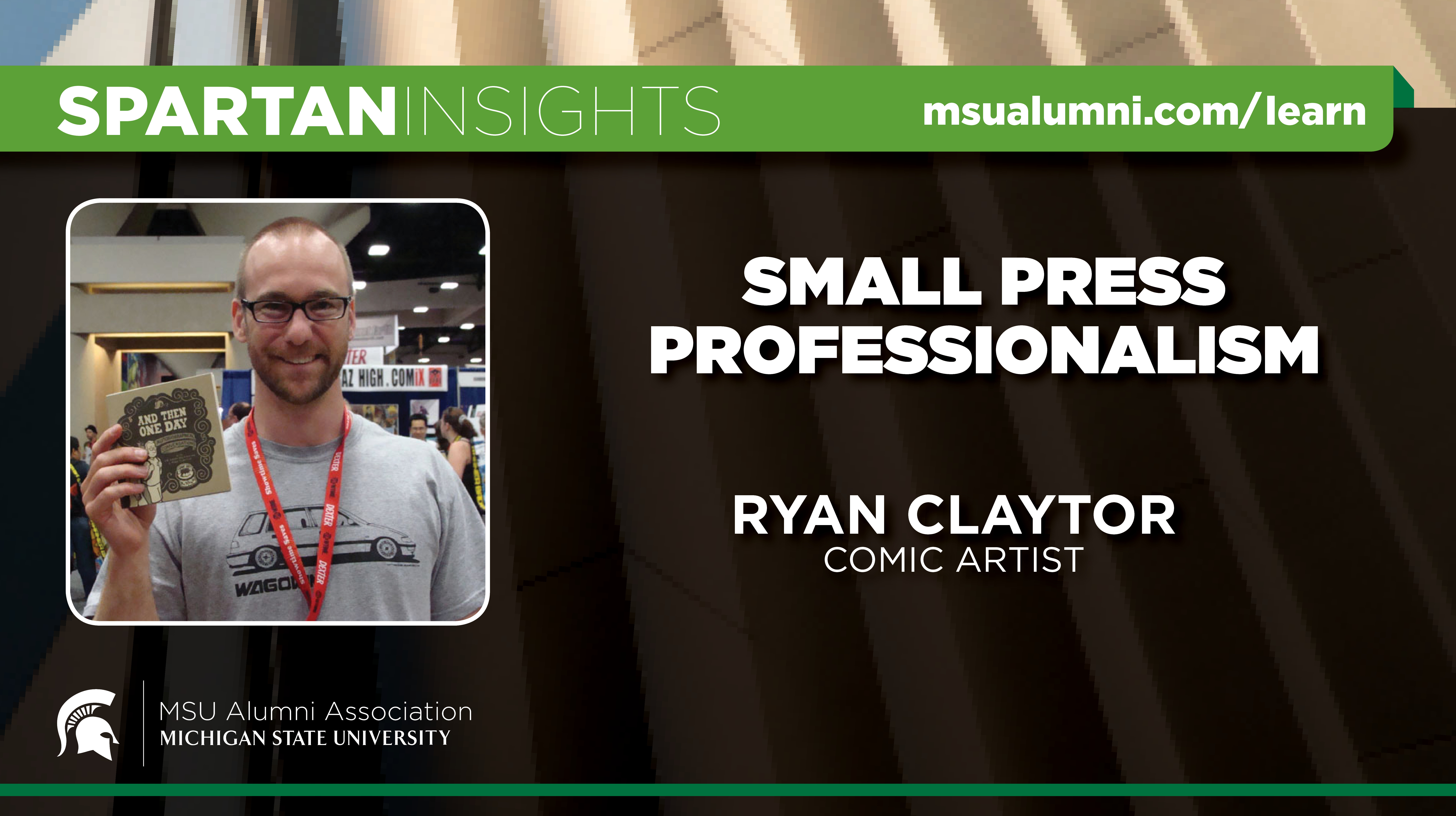 webinar cover image for Ryan Claytor | Small Press Professionalism