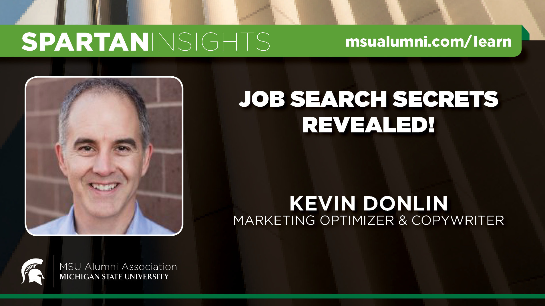 webinar cover image for Kevin Donlin | Job Search Secrets Revealed