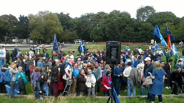 Scotland Rally for Europe