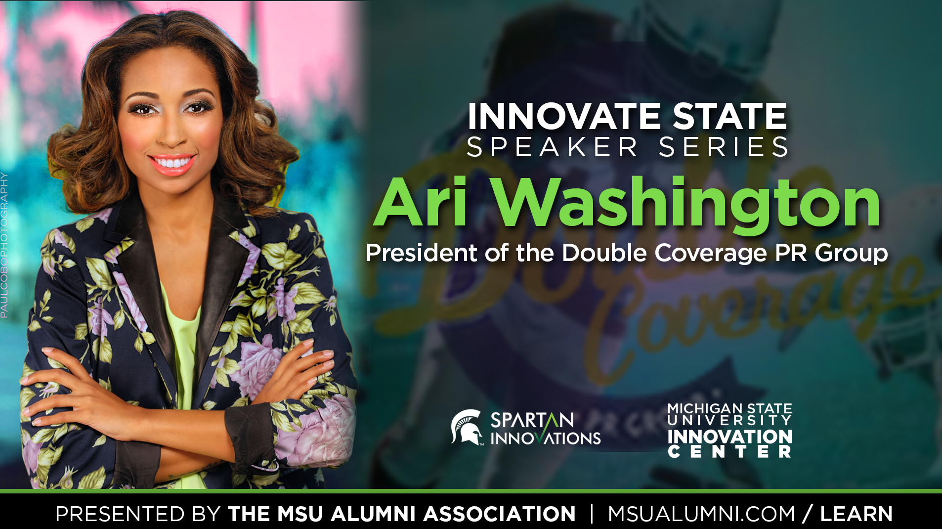 livestream cover image for Innovate State | Ari Washington