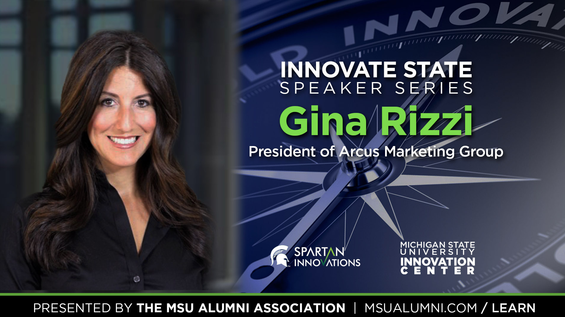 livestream cover image for Innovate State | Gina Rizzi
