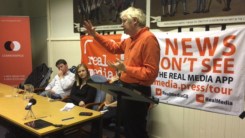 Media Bias and Big Political Events (Glasgow) - Real Media