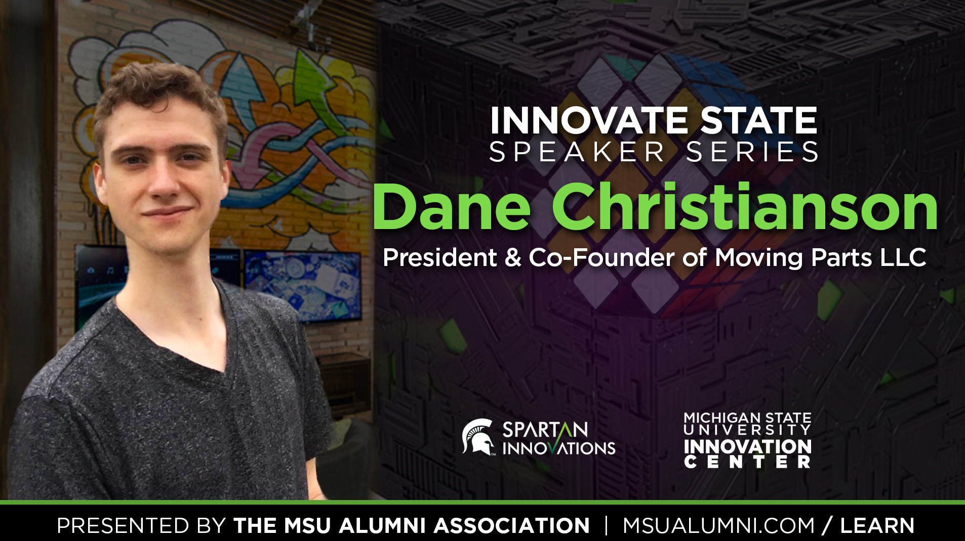 livestream cover image for Innovate State | Dane Christianson
