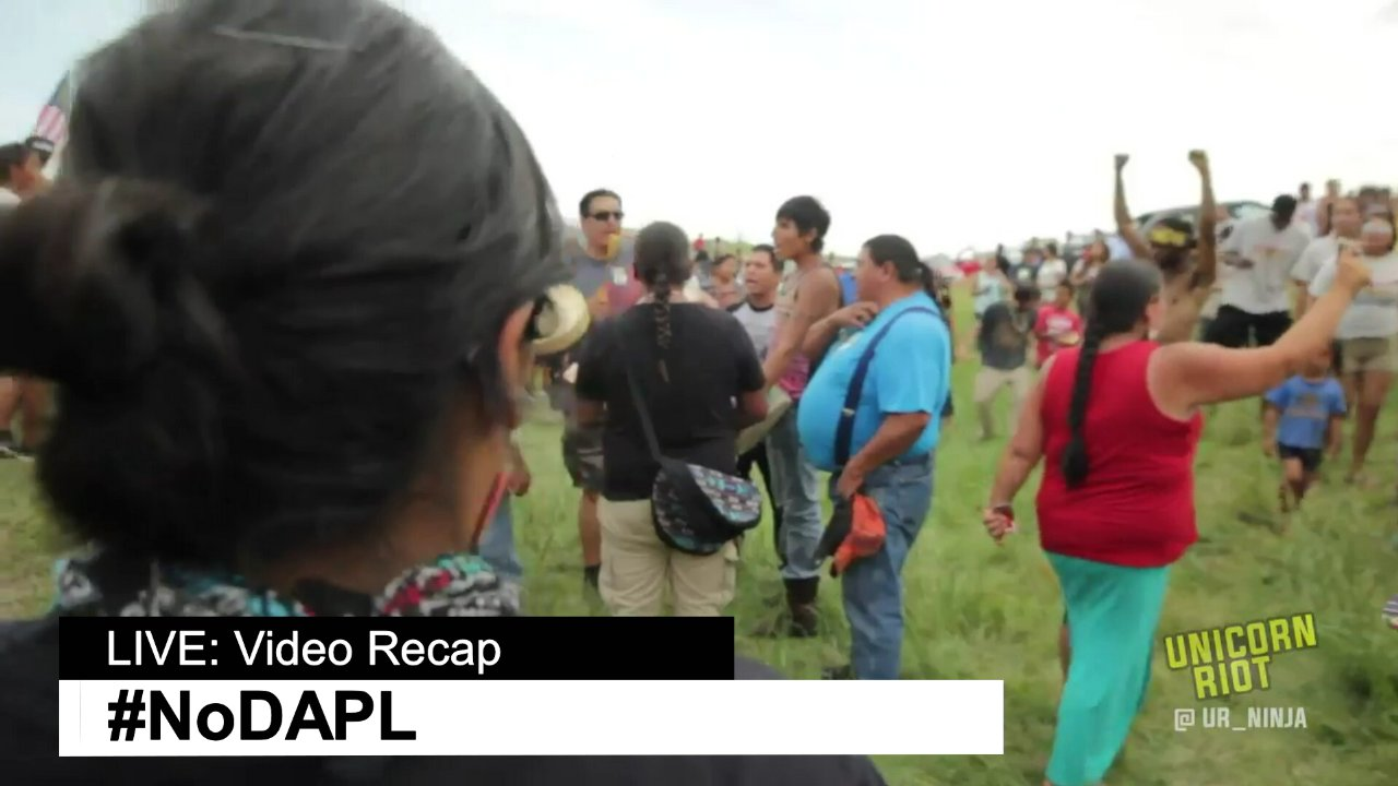 NoDapl Live Video Recap