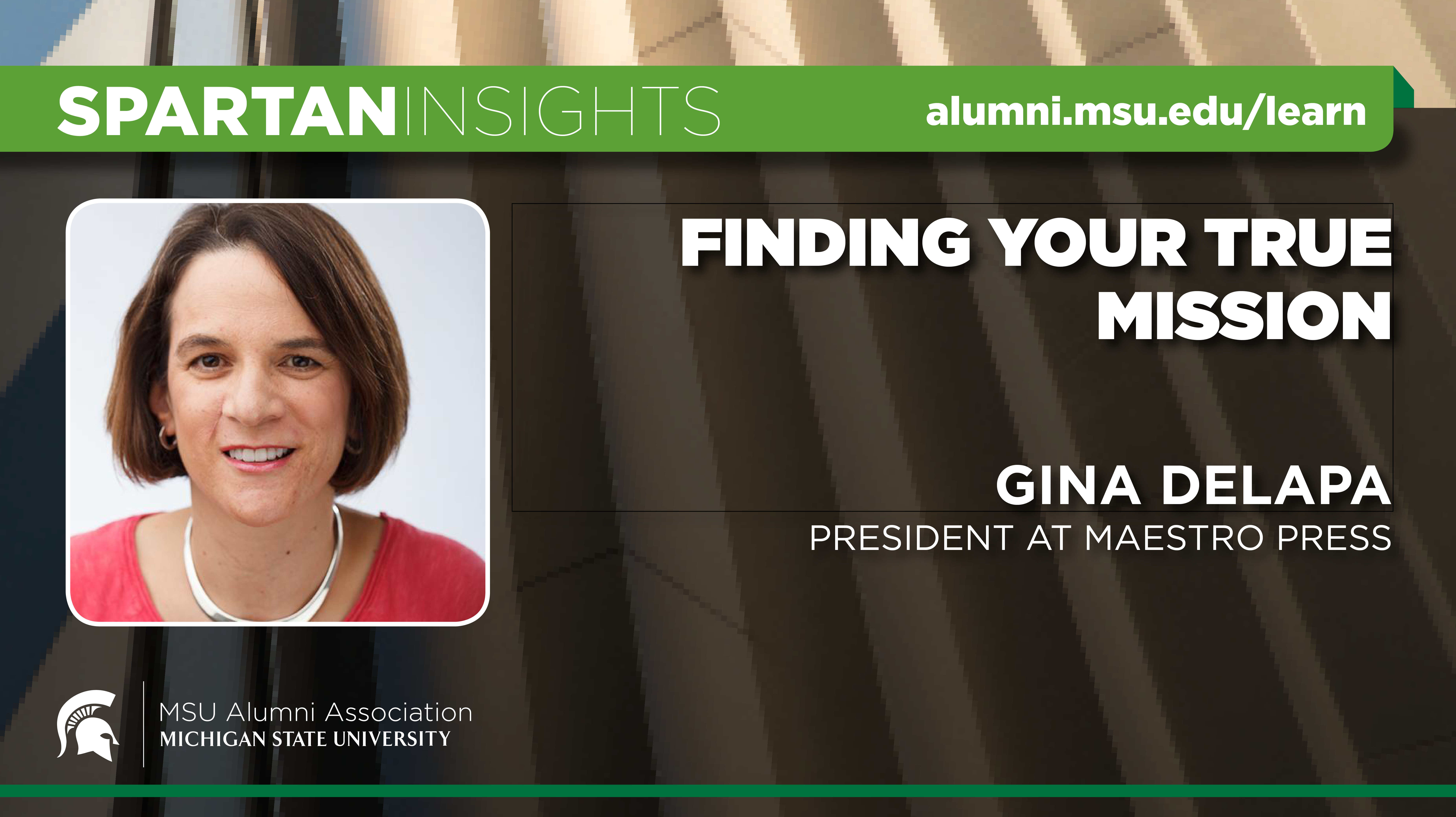 webinar cover image for Gina DeLapa | Finding Your True Mission