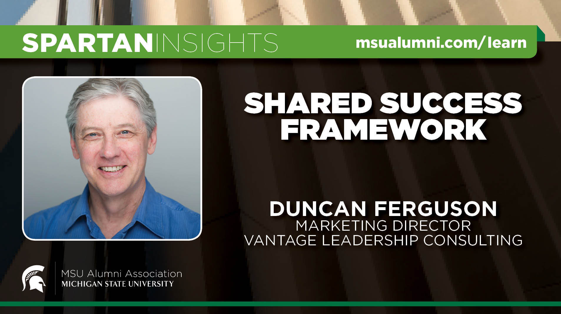 webinar cover image for Duncan Ferguson | Shared Success Framework