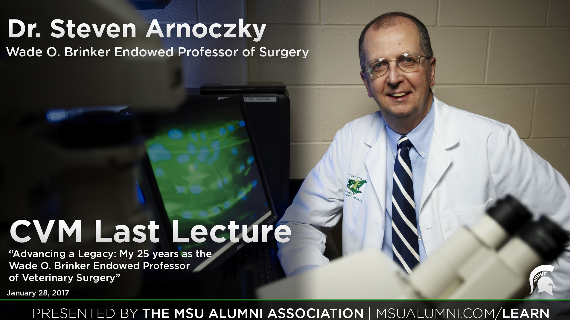 livestream cover image for Dr. Steven Arnoczky | Advancing a Legacy