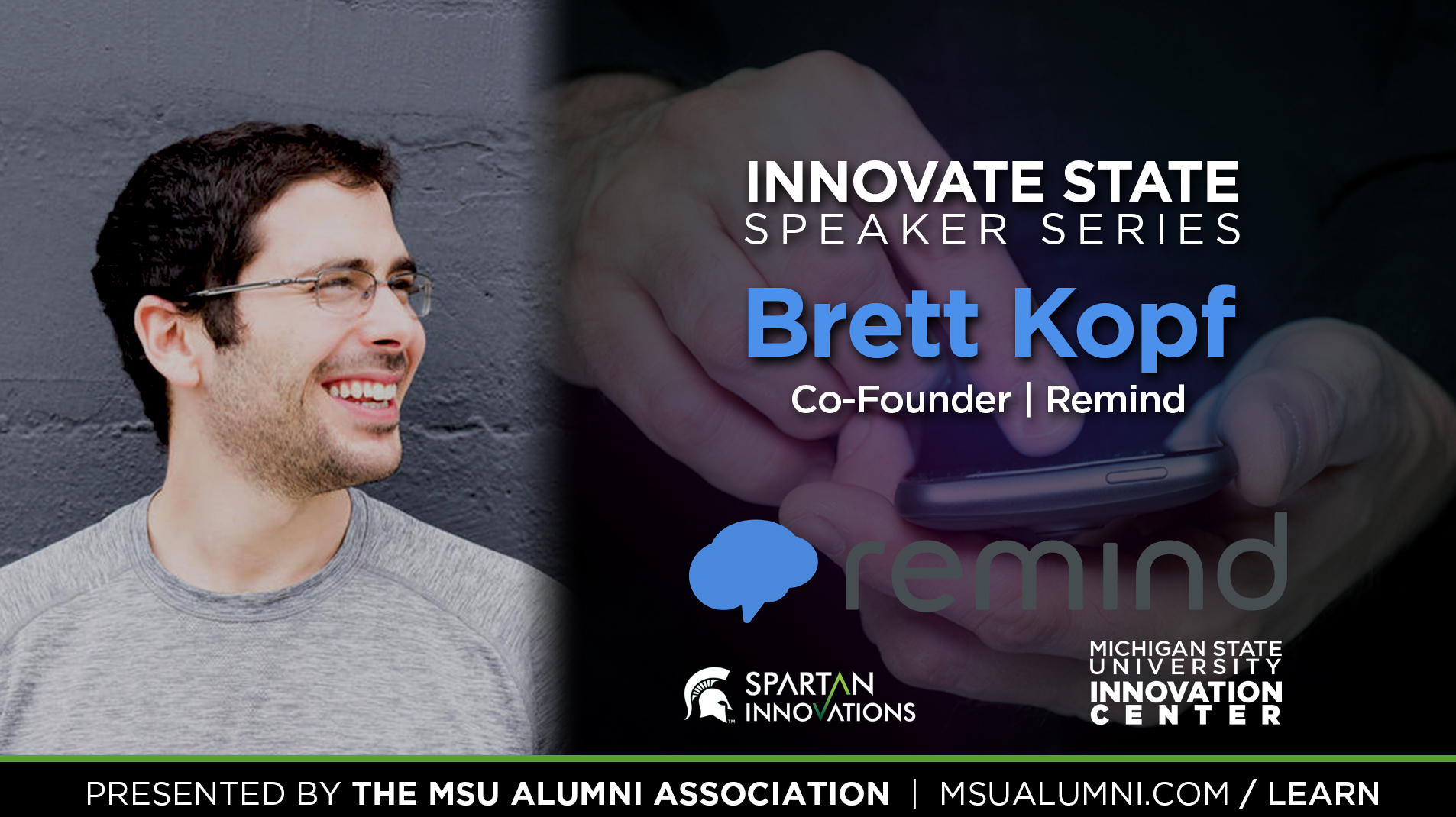 livestream cover image for Innovate State | Brett Kopf