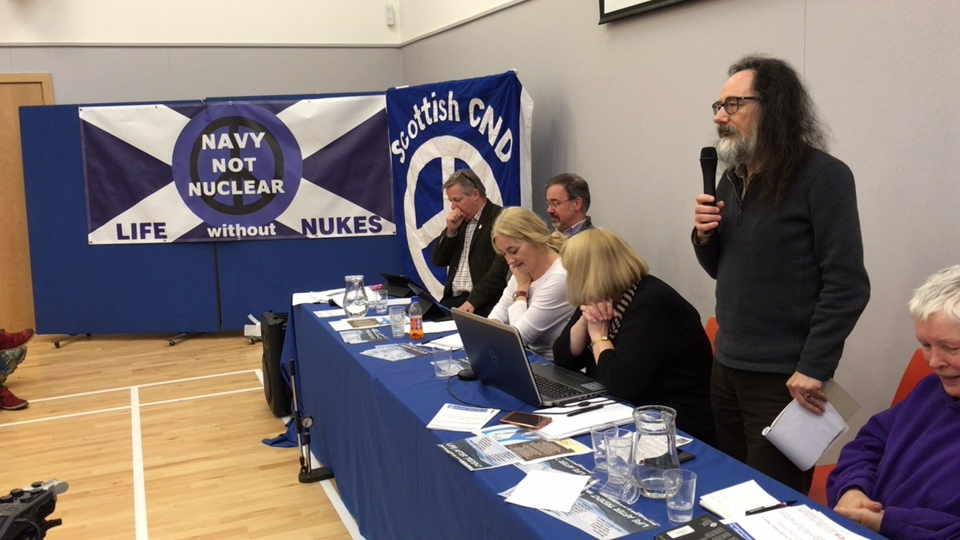 Life After Trident, Helensburgh CND conference3