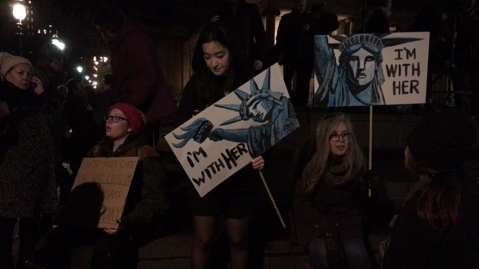 Edinburgh Response to Trump #MuslimBan