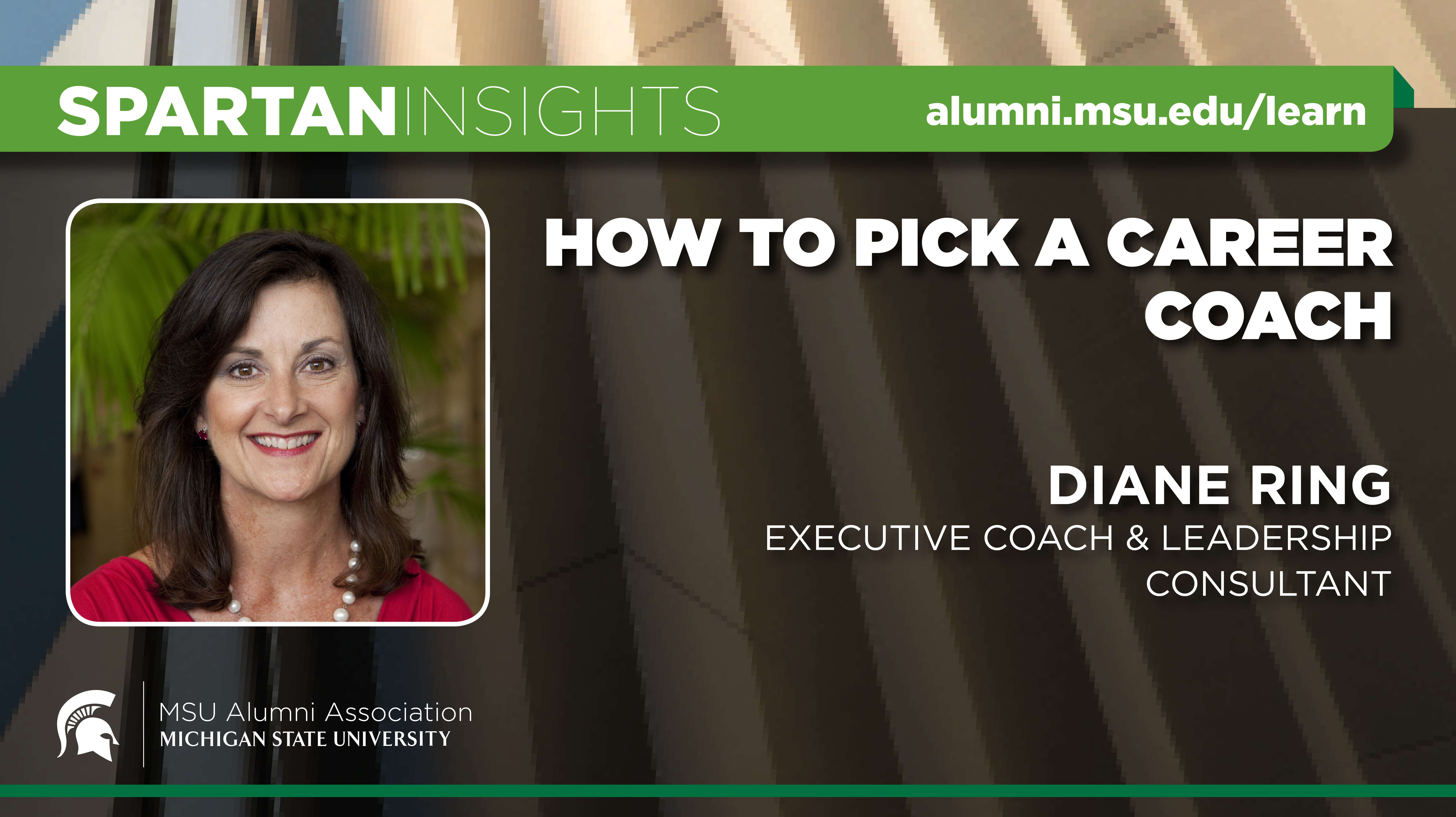 webinar cover image for Diane Ring | How to Pick a Career Coach