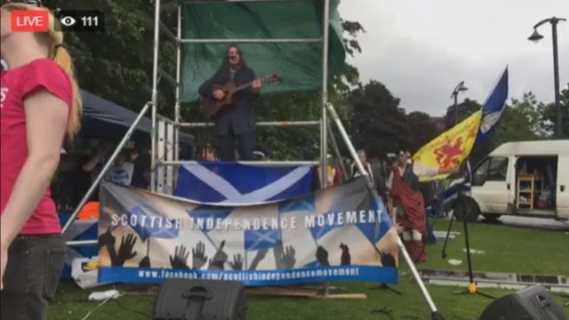 March & Rally for Independence - AUOB