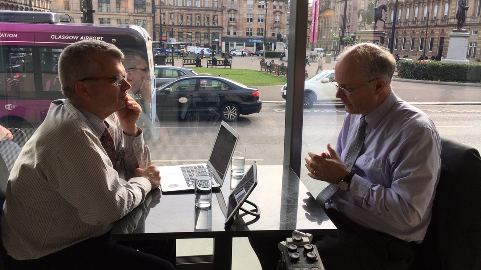 John Curtice interviewed by Mark McNaught