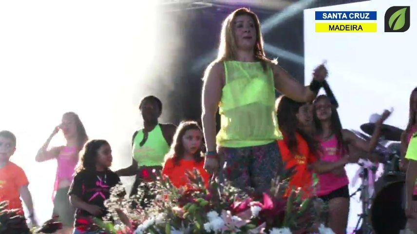 Fitness Team - atuação nas Comemorações do Dia do Concelho de Santa Cruz TV HD (2017)
