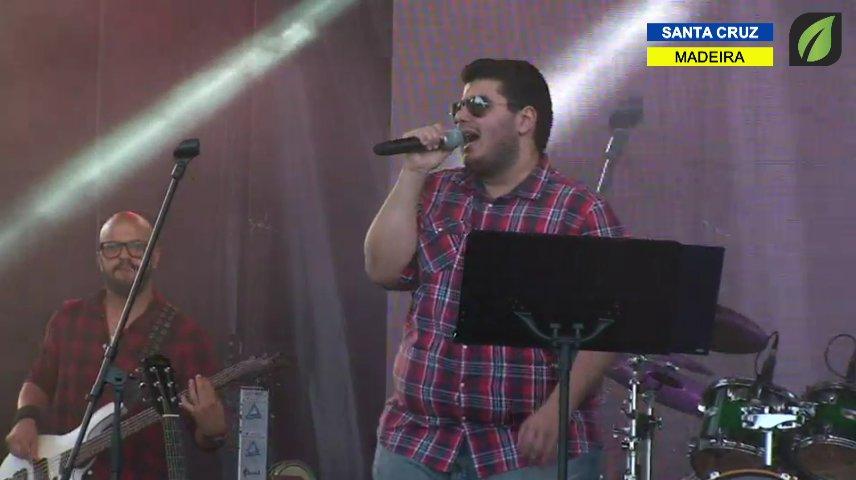 Marco Vieira Band em atuação nas Comemorações do Dia do Concelho de Santa Cruz TV HD (2017)