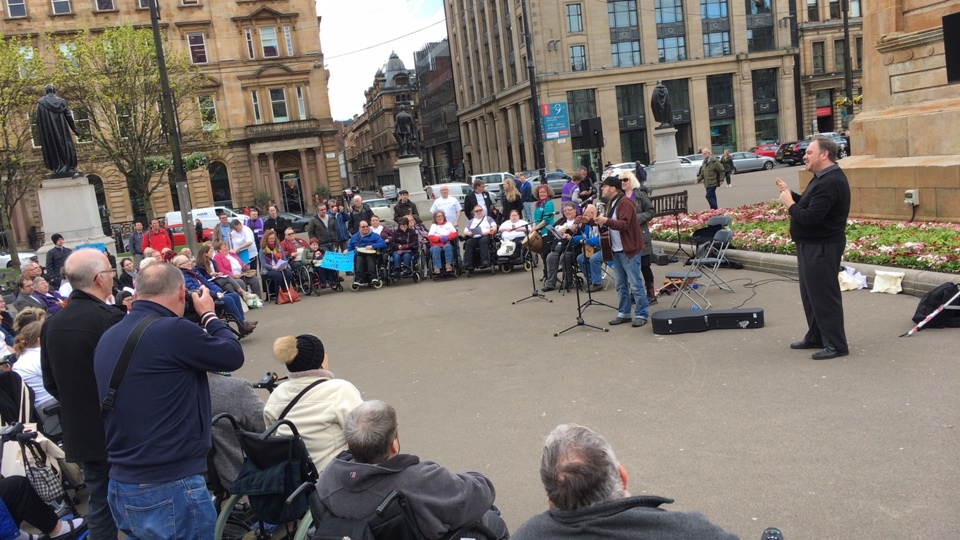 Rally with us: We Belong to Glasgow too!