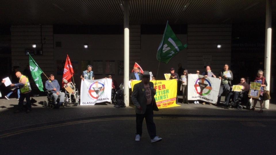 DPAC Glasgow & RMT Union Rally