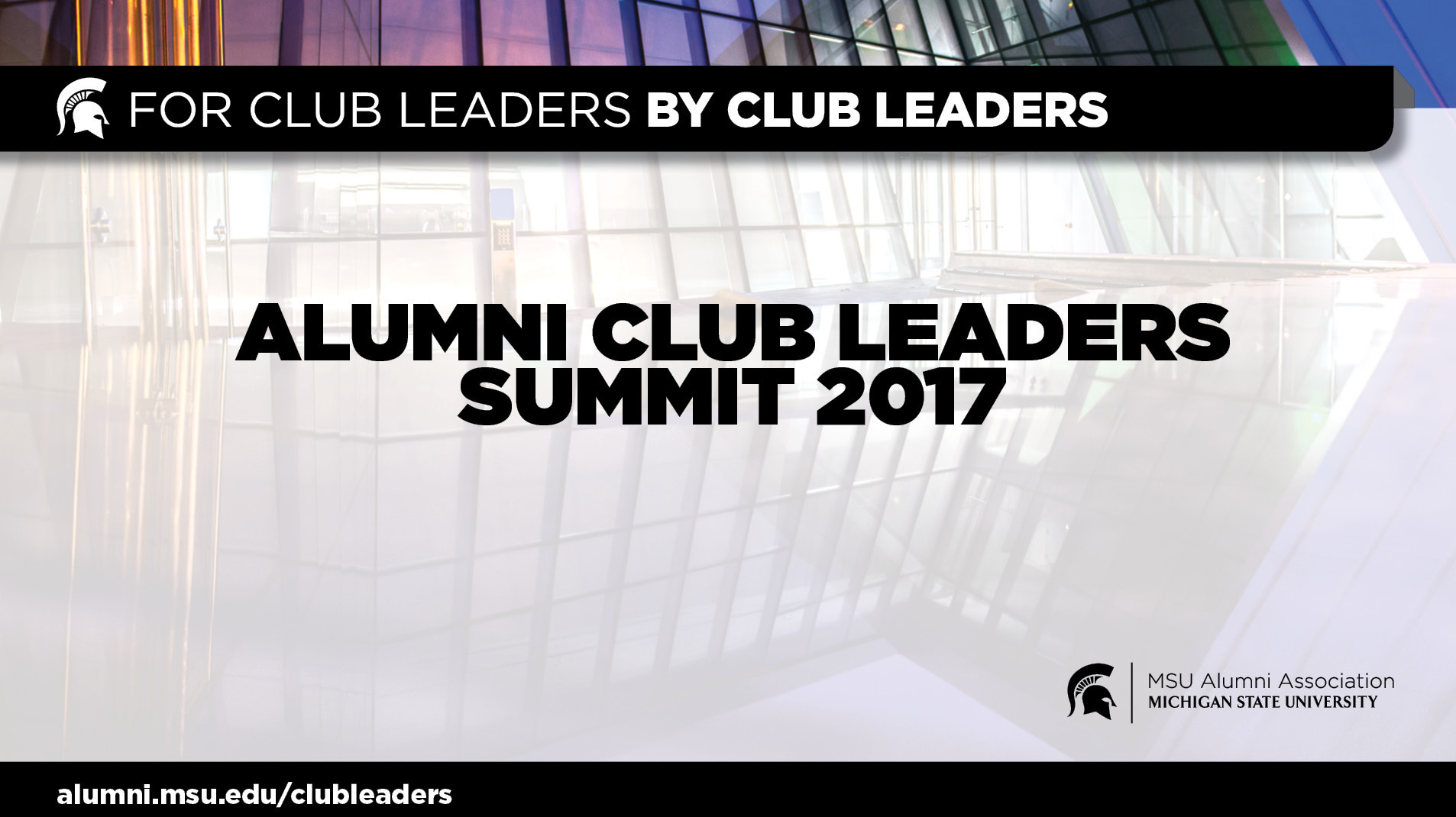 livestream cover image for Alumni Club Leaders Summit 2017