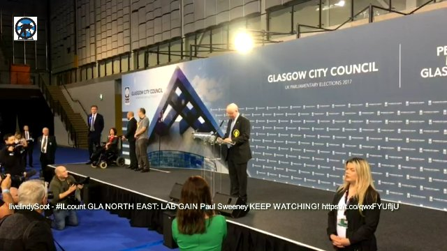 #GE2017 Coverage from Glasgow, The Emirates Arena