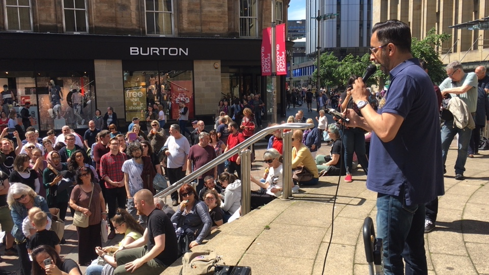Justice for Grenfell - Glasgow stands with you.