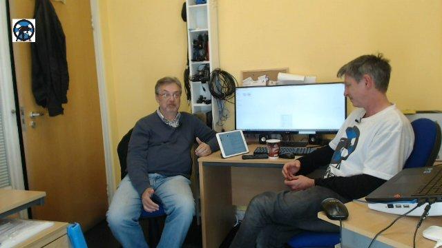 Office Chat: Ken McDonald, iScot Magazine