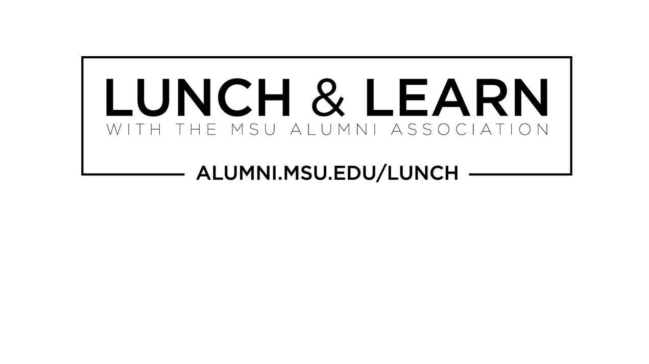 livestream cover image for Lunch & Learn