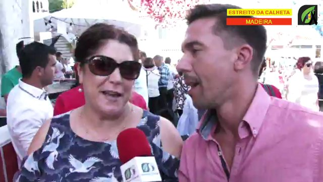 Dia 15 - Entrevista a População presente na Nossa Senhora da Graça no Estreito da Calheta