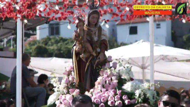 Dia 15 - Procissão na  Nossa Senhora da Graça no Estreito da Calheta