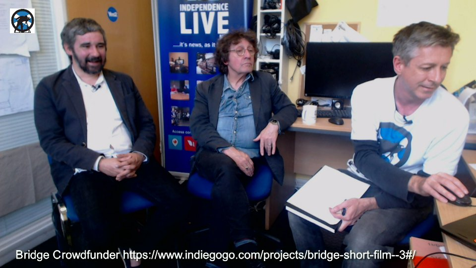 Bridge Short Film interview with Iain Robertson & John Quinn