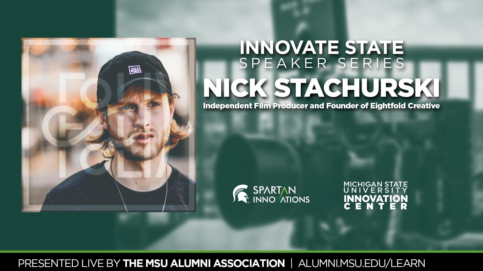 livestream cover image for Innovate State | Nick Stachurski