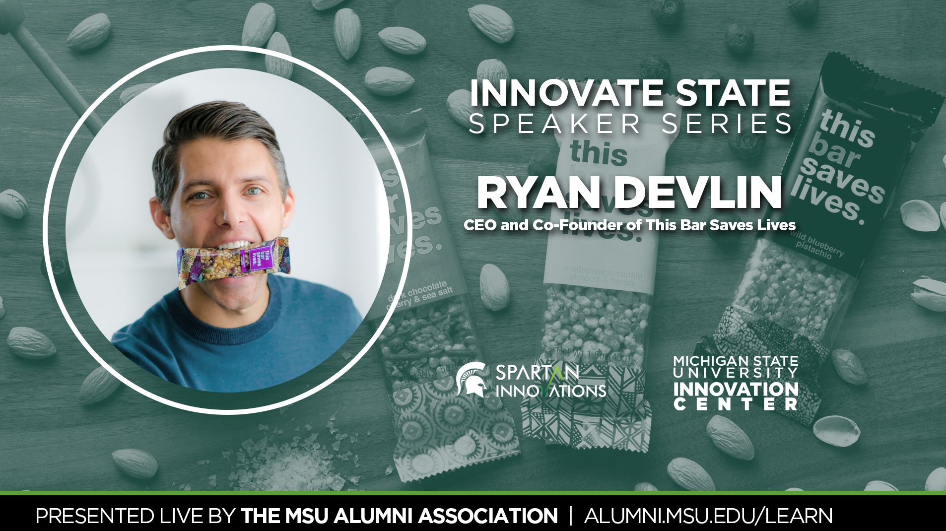 livestream cover image for Innovate State | Ryan Devlin