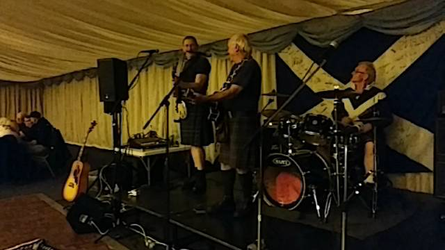 Stirling Bridge Commemoration Hoolie at Stirling Rugby Club
