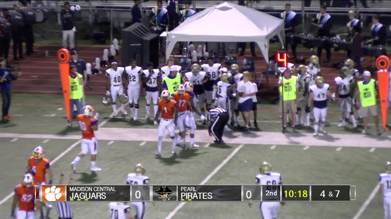 Madison Central Vs Pearl On Livestream