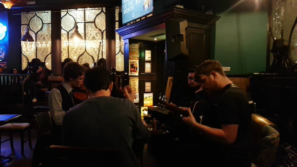 Traditional music in McSorley's