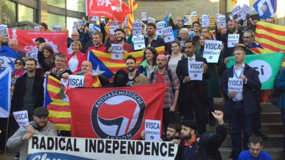 Glasgow Stands with Catalonia