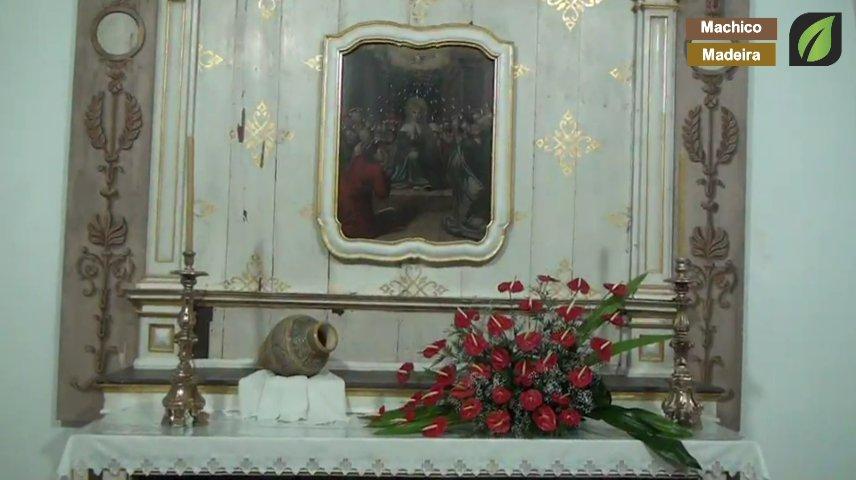 Apresentação das Capelas por parte do Pároco Manuel Martins na Festa do Senhor dos Milagres