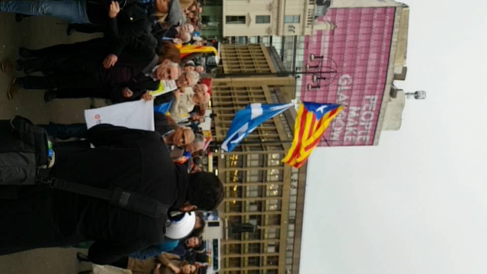 Glasgow to Barcelona La Passionara