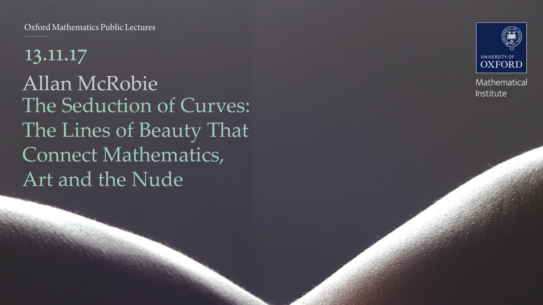 the seduction of curves the lines of beauty that connect mathematics art and the nude