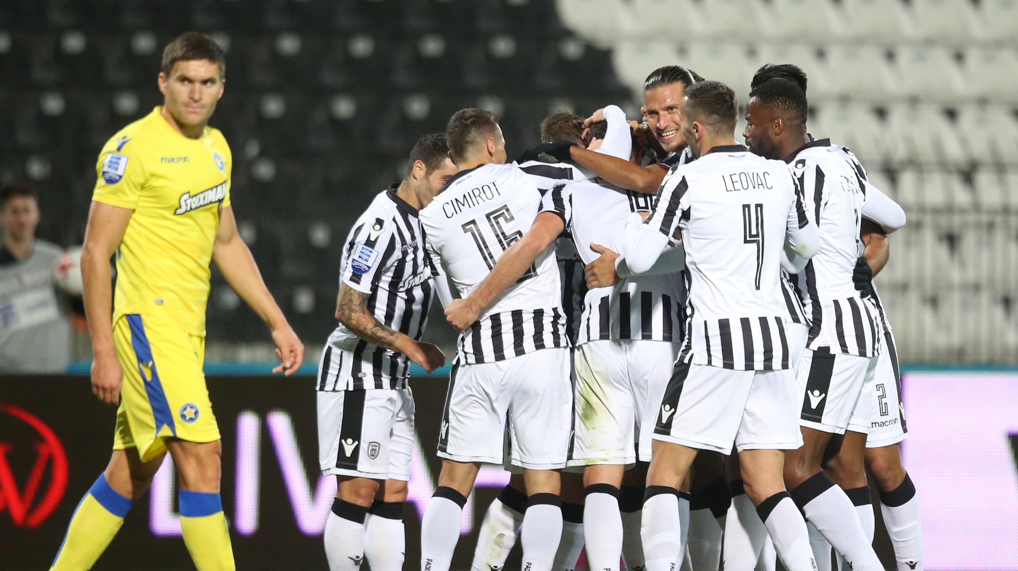 ΠΑΟΚ-Αστέρας Τρίπολης 2-0