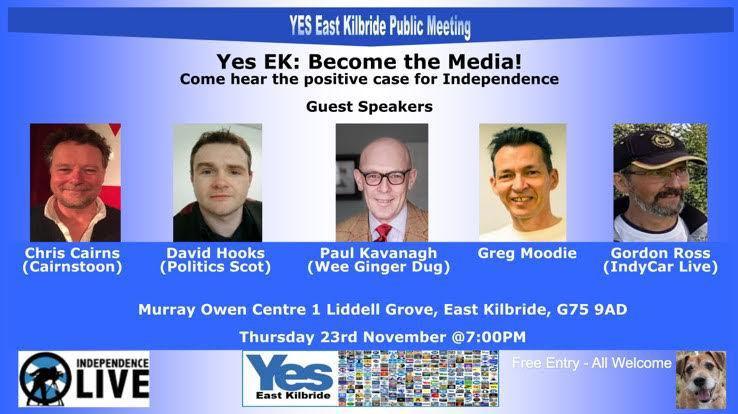 Yes EK Speakers Night