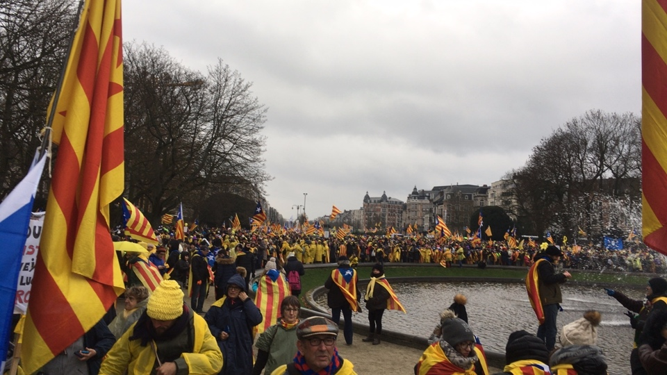 #WakeUpEurope Democracy for Catalonia, live from Brussels