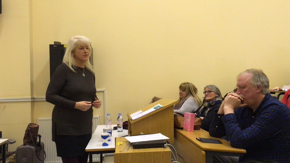 Lesley Riddoch At Yes Eastwood Inaugural Event