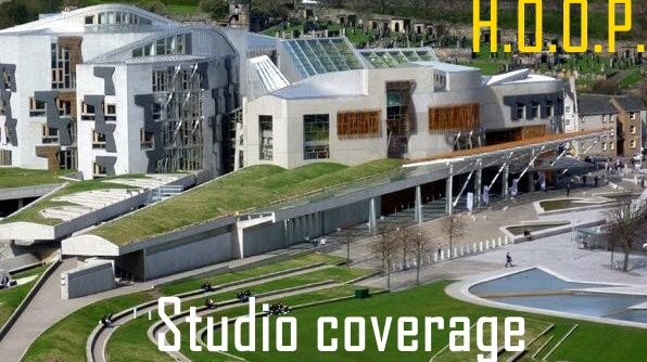 HOOP studio coverage - Hands Off Our Parliament
