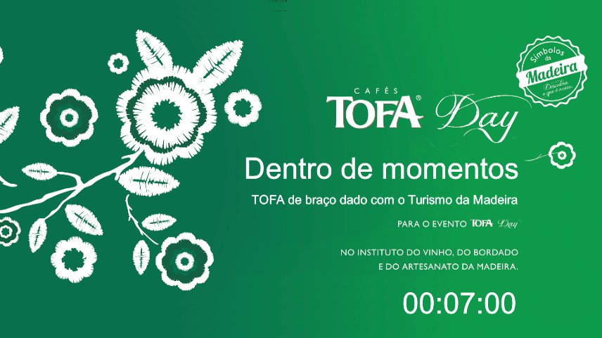 NAMINHATERRA TOFA CAFÉ de Mãos dadas com o Turismo da Madeira