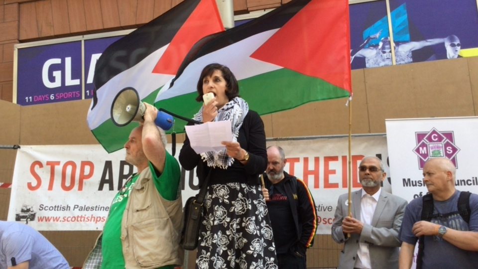 Demo: End Israel's latest bloody massacre in Gaza