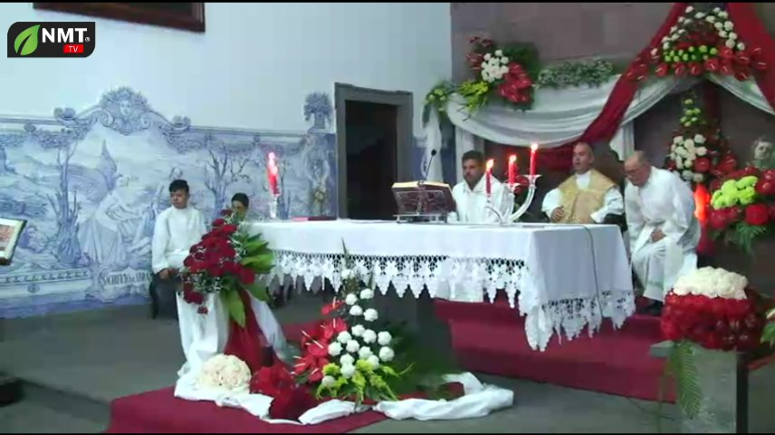 Dia 12 Missa e Procissão no Arraial da Freguesia do Estreito da CalhetaTV HD (2018)