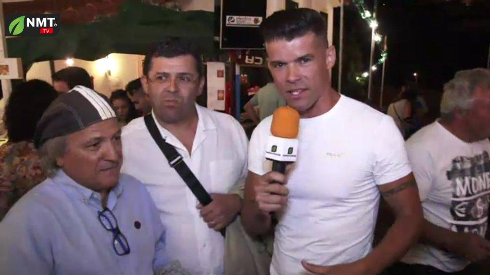 Dia 14 Entrevista a Álvaro Florença e Kontraband no Arraial da Freguesia do Estreito da Calheta TV HD (2018)